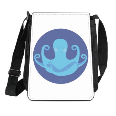 Сумка-планшет Animal Zen: O is for Octopus
