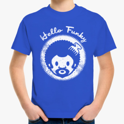 Детская футболка Hello Funky