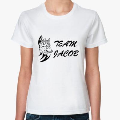Классическая футболка   Team Jacob