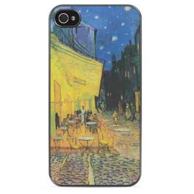 Чехол для iPhone Винсент Ван Гог  'Ночная терраса кафе'
