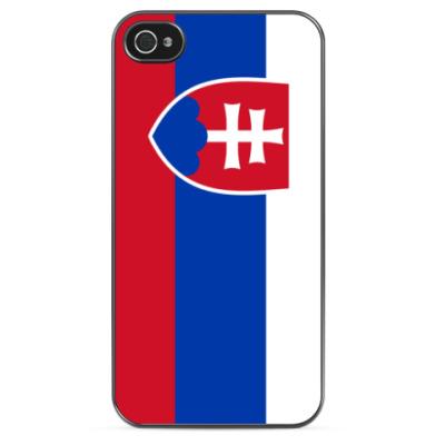Чехол для iPhone Флаг Словакии
