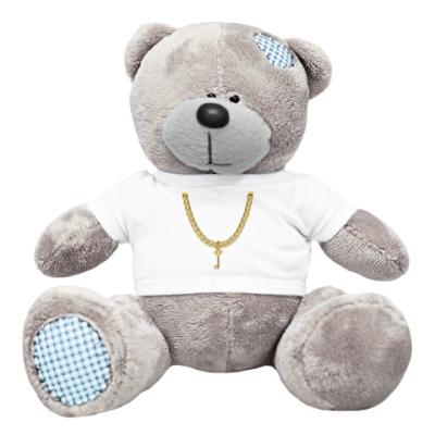 Плюшевый мишка Тедди Ключик от сердца