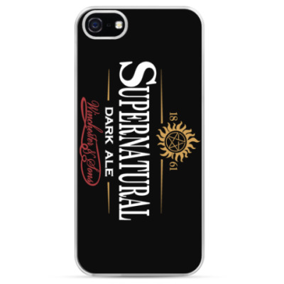 Чехол для iPhone Supernatural - Темный эль