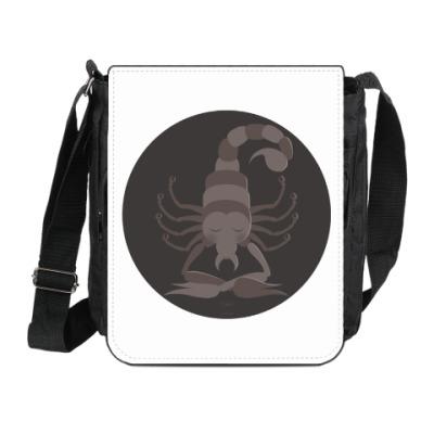 Сумка на плечо (мини-планшет)  Animal Zen: S is for Scorpion