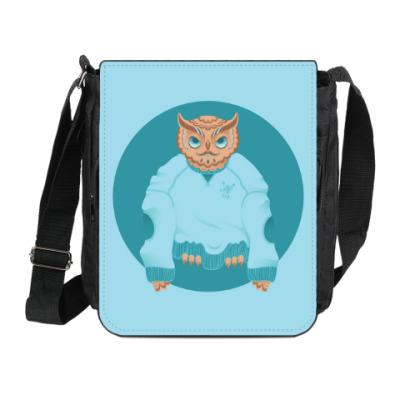 Сумка на плечо (мини-планшет) Animal Fashion: O is for Owl
