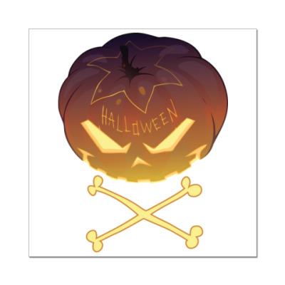 Наклейка (стикер) Halloween