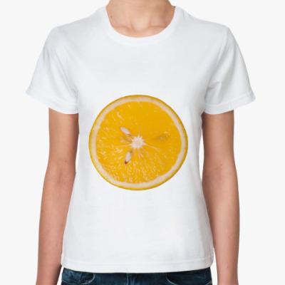 Классическая футболка Апельсин
