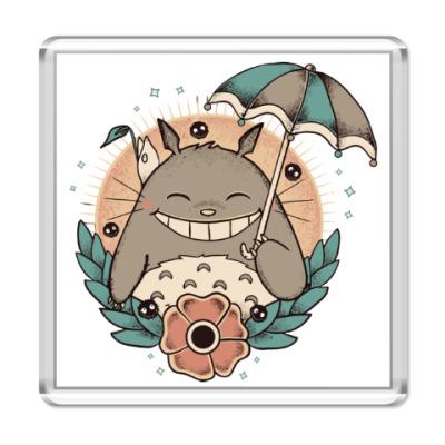 Магнит Smile Totoro