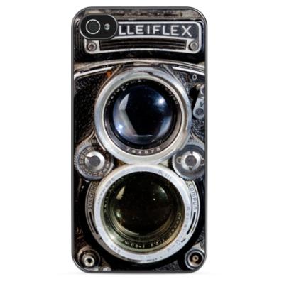 Чехол для iPhone Винтажная камера Rolleiflex