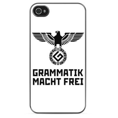 Чехол для iPhone Grammatik macht frei