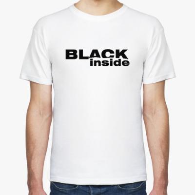 Футболка BLACK inside