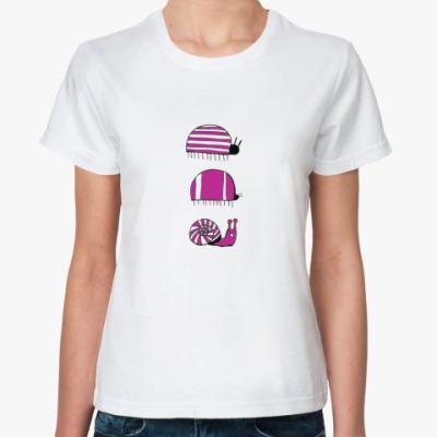 Классическая футболка Жуки и улитка