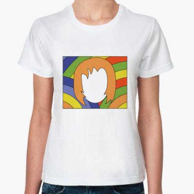 Классическая футболка   Лицо