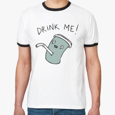 Футболка Ringer-T Drink