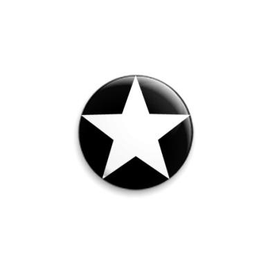 Значок 25мм  Звезда