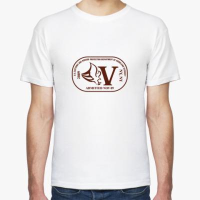 Футболка   Печать V
