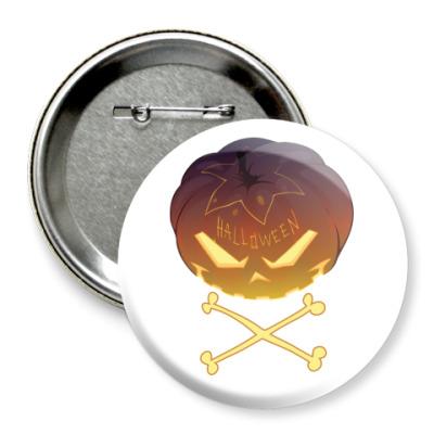 Значок 75мм Halloween