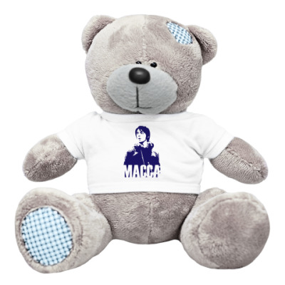 Плюшевый мишка Тедди Мишка The Beatles -Paul Macca