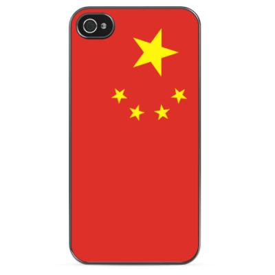 Чехол для iPhone Флаг Китая