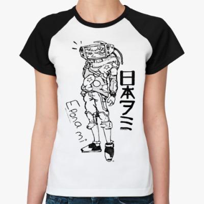 Женская футболка реглан  Eponami Dead Leaves