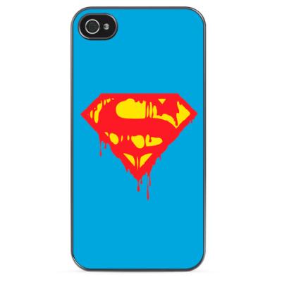 Чехол для iPhone Superman Death