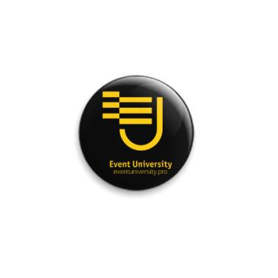 Значок 25мм Логотип Event University