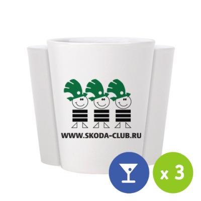 Рюмки Skoda-Club (3 шт.)