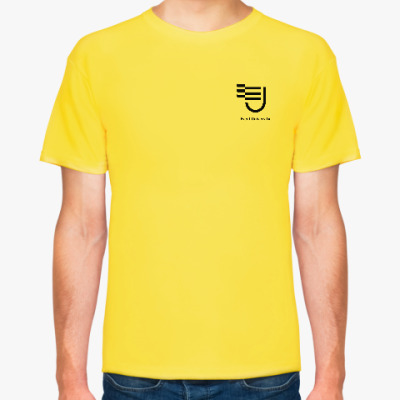 Футболка Мужская футболка Event University, желтая