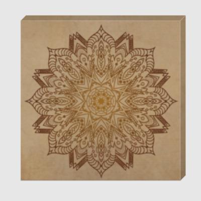 Холст FlowerPower Mandala