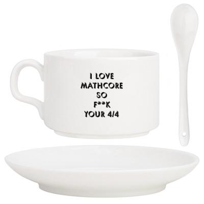 Кофейный набор I Love Mathcore
