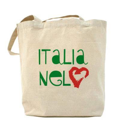 Сумка Италия в сердце