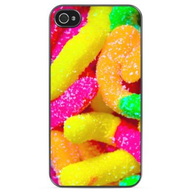 Чехол для iPhone Радужные конфеты