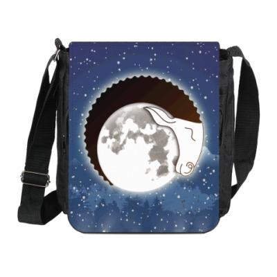 Сумка на плечо (мини-планшет) Лунный Баран