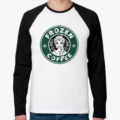 Футболка реглан с длинным рукавом Frozen coffee