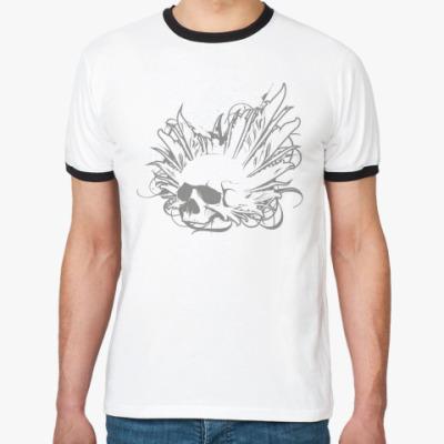 Футболка Ringer-T 'Sleeping Owl'