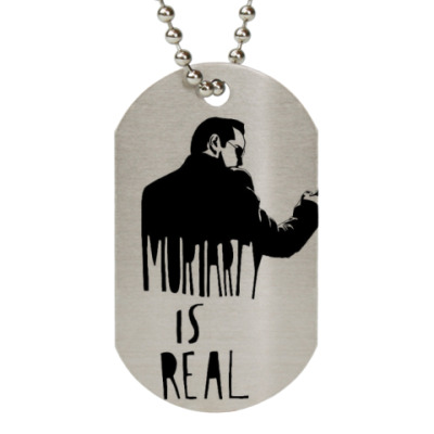 Жетон dog-tag Is real(Мориарти-Шерлок Хомс)