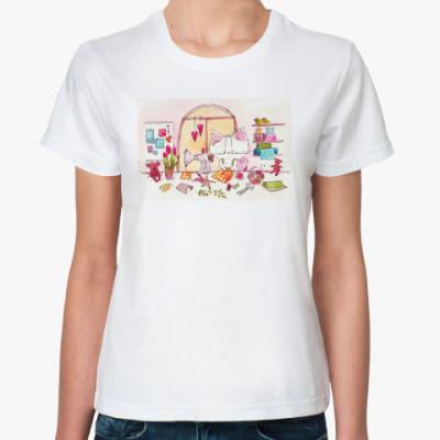 Классическая футболка  Творческое настроение