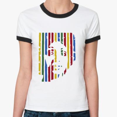 Женская футболка Ringer-T  funk woman