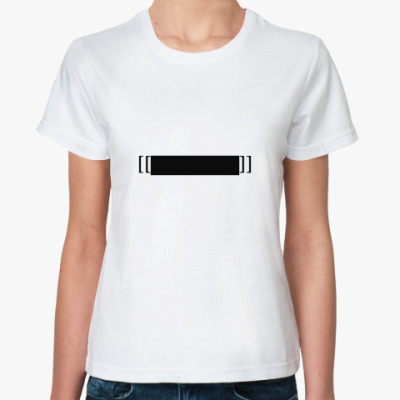 Классическая футболка Цензура