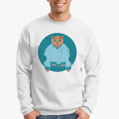 Свитшот Animal Fashion: O is for Owl