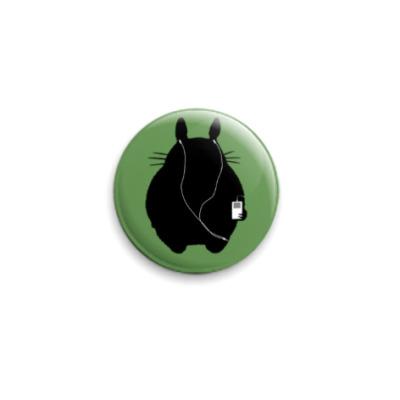 Значок 25мм  25 мм Totoro