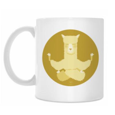 Кружка Animal Zen: A is for Alpaca