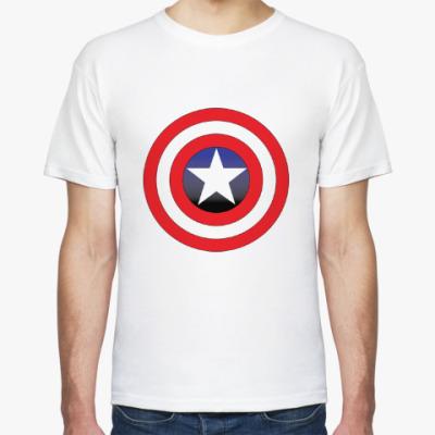 Футболка Капитан Америка - Щит / Captain America Shield