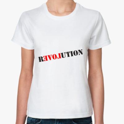 Классическая футболка Love Revolution
