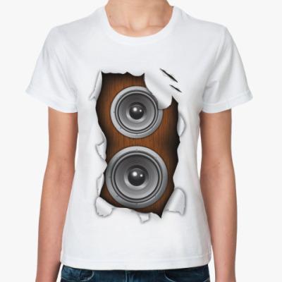 Классическая футболка Звук