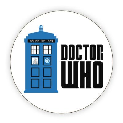 Костер (подставка под кружку) Doctor Who
