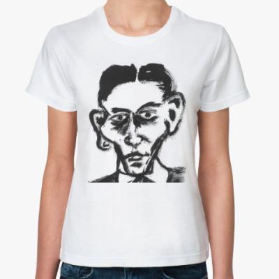 Классическая футболка Франц Кафка