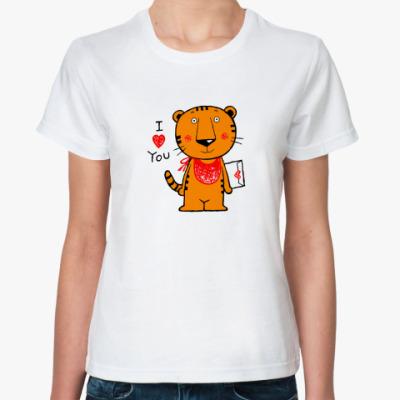 Классическая футболка Тигренок