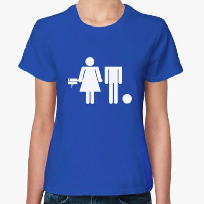 Женская футболка Не потеряй голову