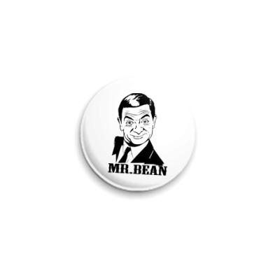 Значок 25мм  Mr.Bean